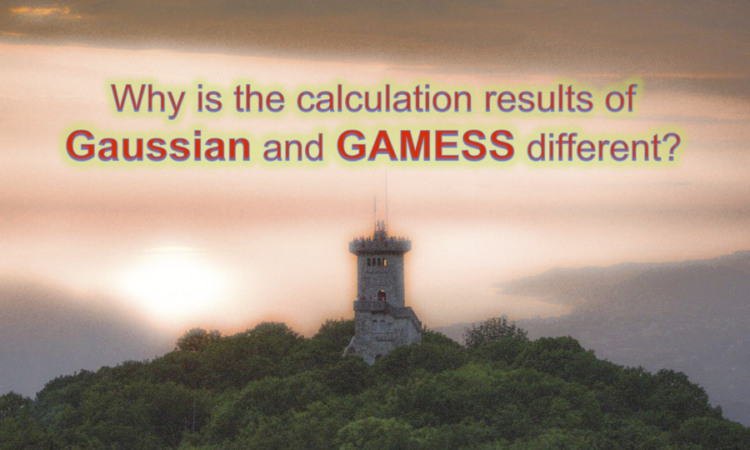 Why is the calculation results of Gaussian and GAMESS different