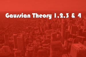 Gaussian theory 、G1, G2, G3, G4 _汎関数の評価方法