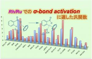 Rh/Ru を用いた σ-bond activation に適した汎関数!