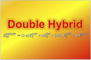 ダブルハイブリッド密度汎関数理論 doubly hybrid density functional theory