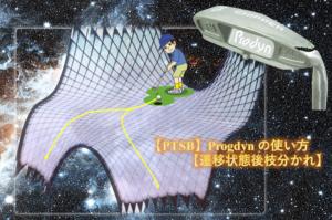 【PTSB】Progdyn の使い方【遷移状態後枝分かれ】